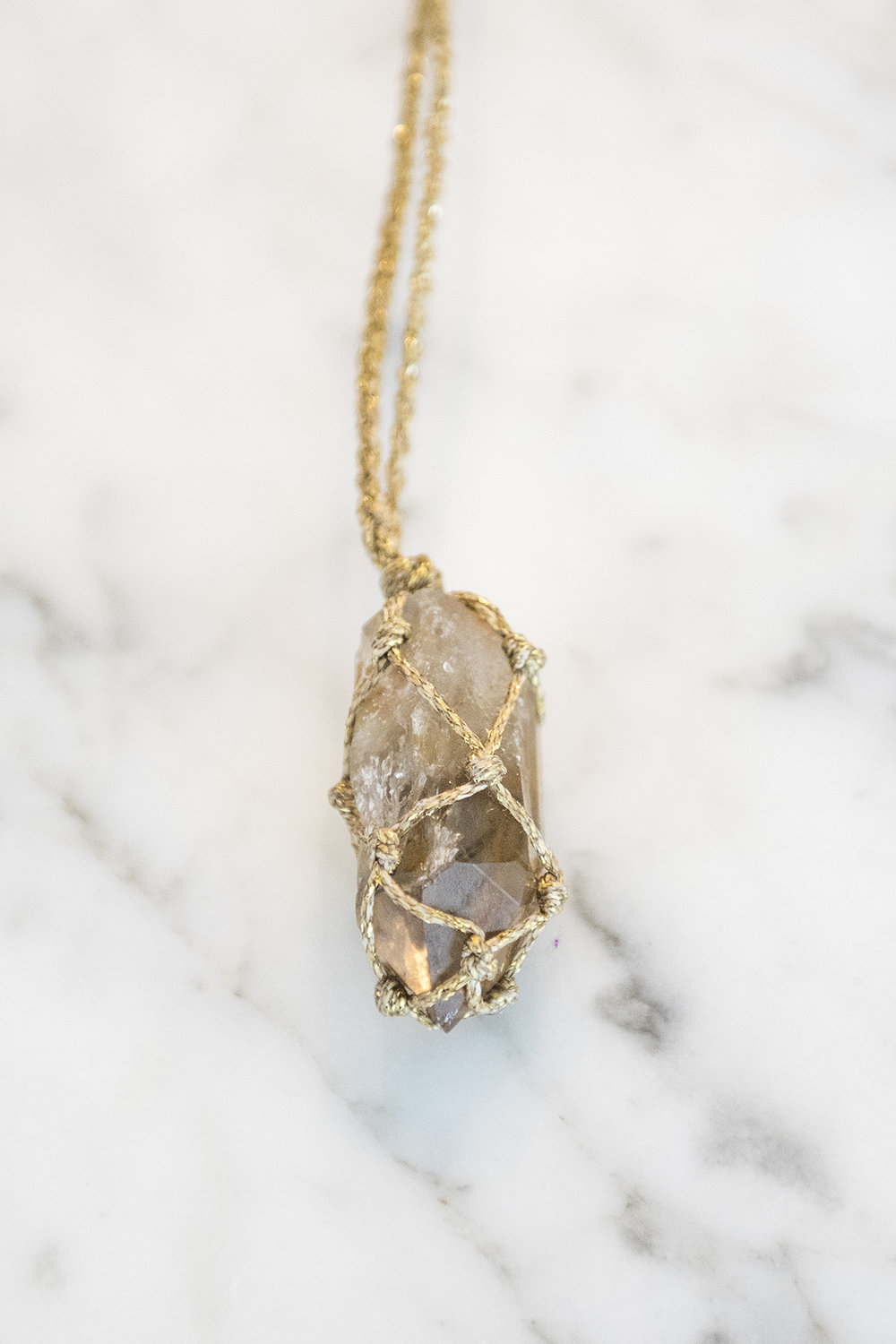 Mariah Suzanne - Hand Knotted Crystal Jewelry