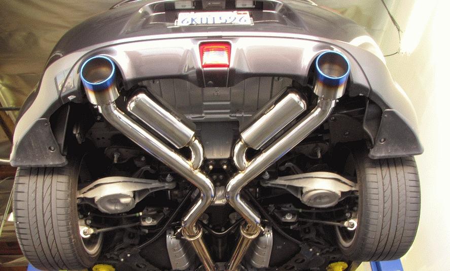 Motordyne Shockwave Exhaust 09+ Nissan 370Z