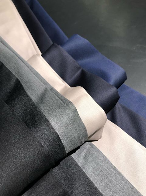 The range of trousers and suitings for Vizzari 925- Extra trousers available per suit