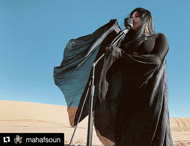 #Repost @mahafsoun  Recording the very first @akheth.official music video.