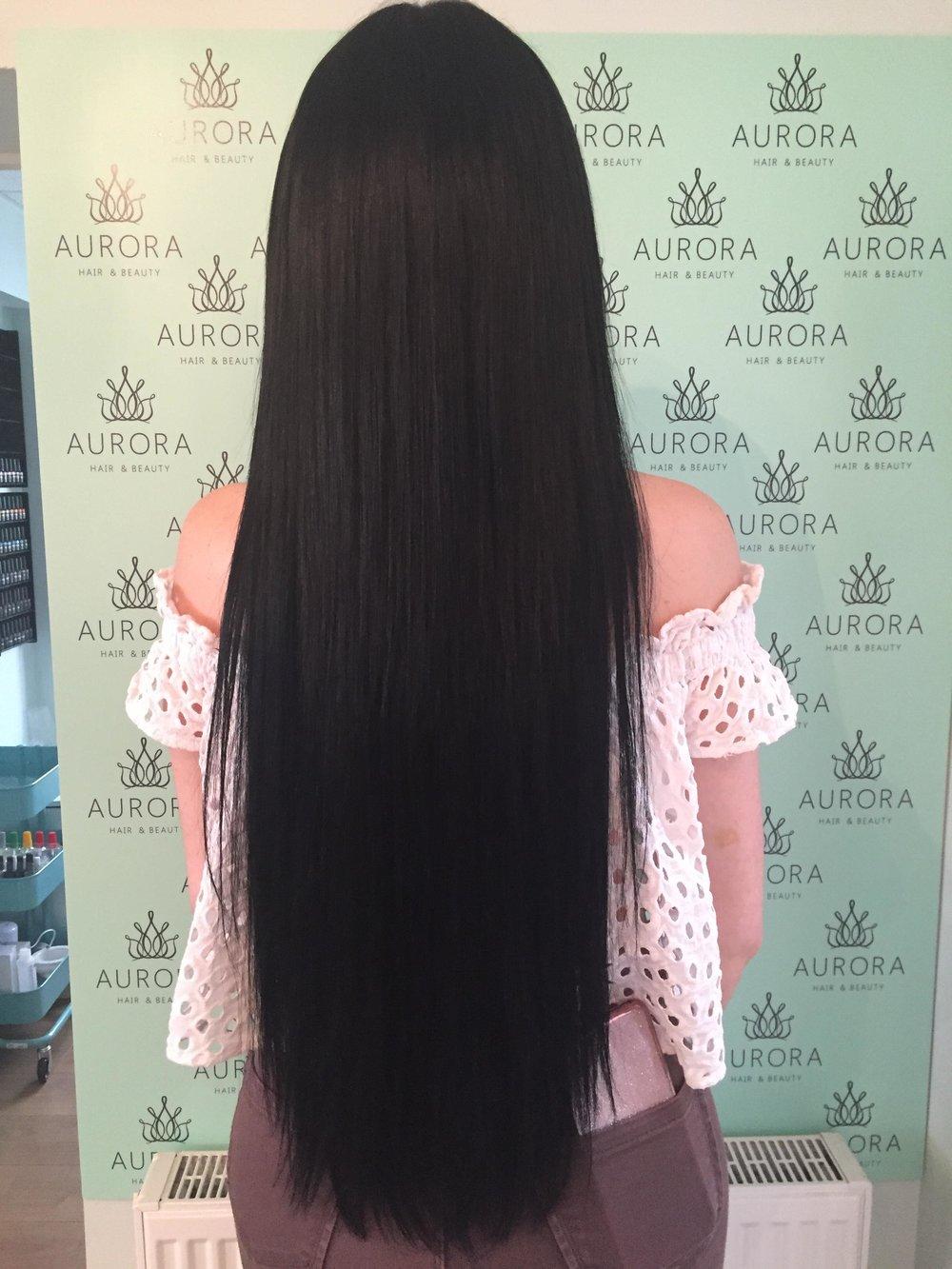 Hair Extensions Aurora Salon