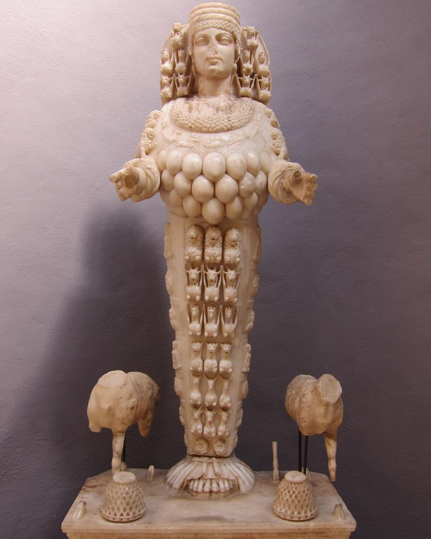Artemis Statue in Ephesus Museum