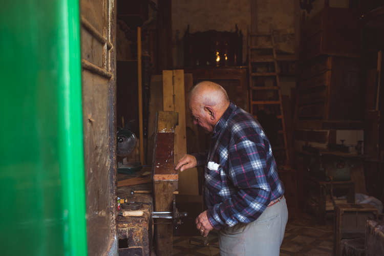 Salvu Dimech: furniture restorer