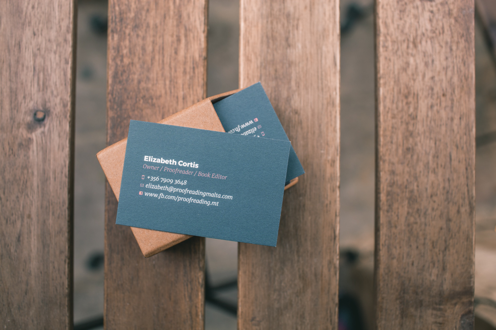 Business cards by Panda!