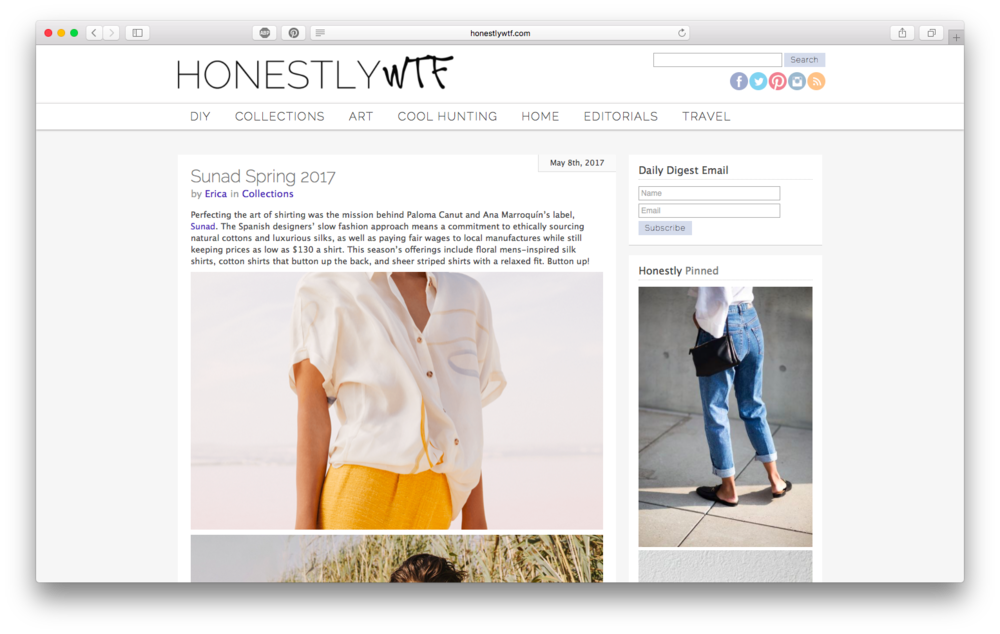 Featured in  Honestly WTF  design blog