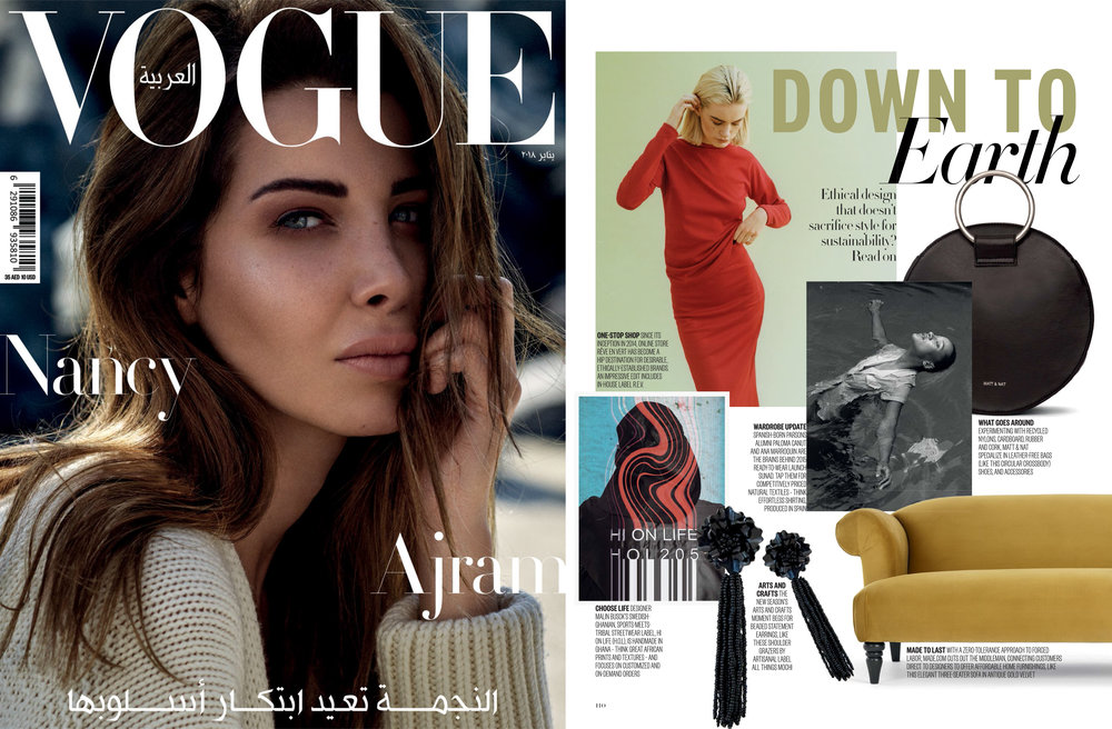 Featured in Vogue Arabia - January issue