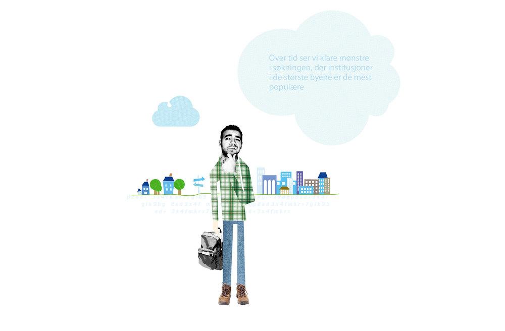 Illustrasjon student