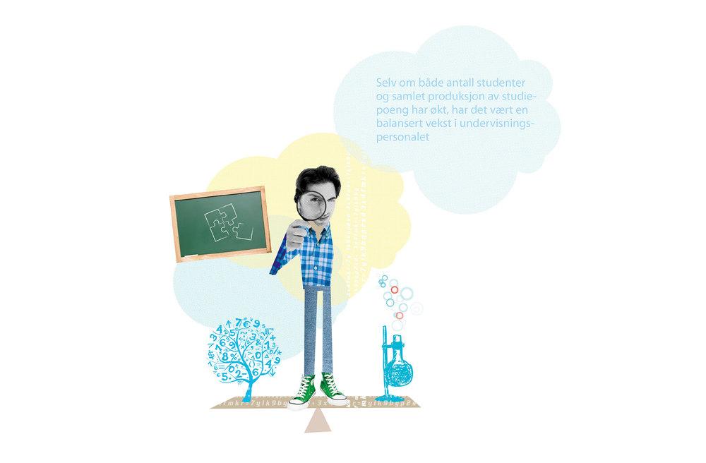 Illustrasjon lærer