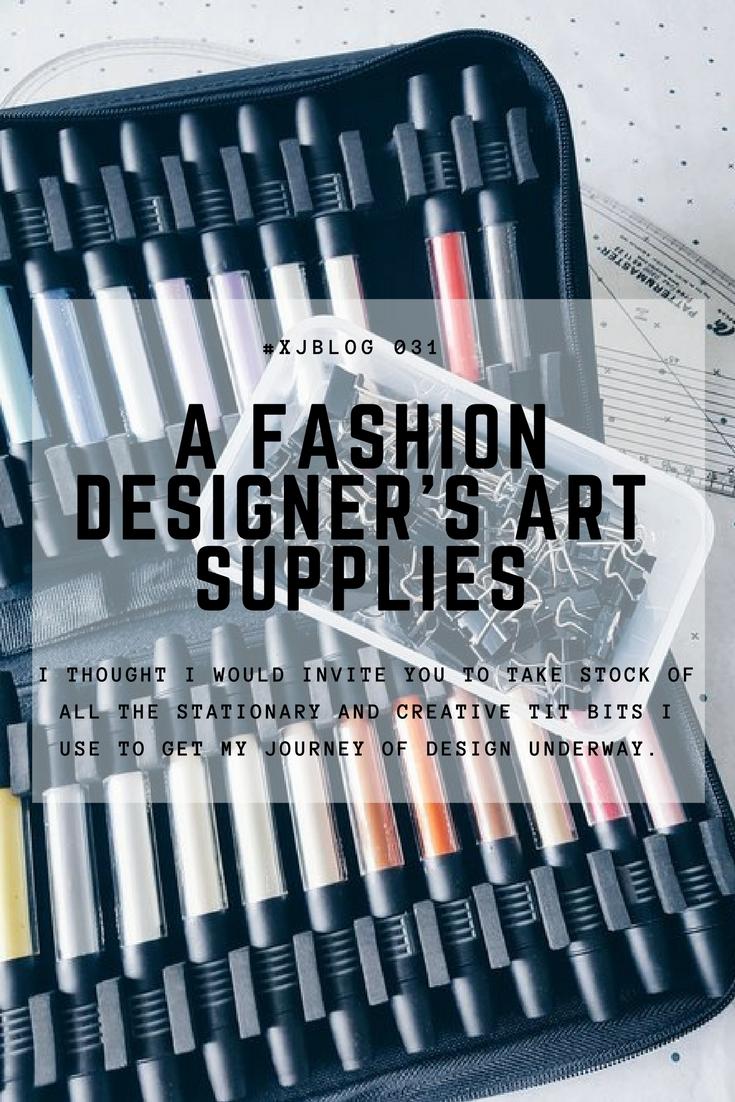 Art supplies for fashion design 97