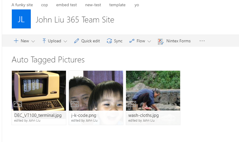 Auto-Classify Images in SharePoint Online library via Flow