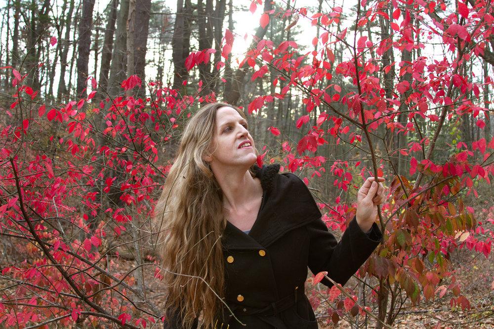 Lorelei, in the woods, 2012
