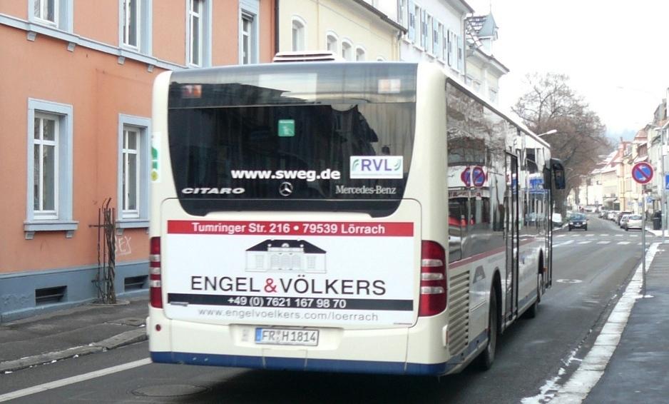 ENGEL&VÖLKERS, LÖRRACH — KWS Verkehrsmittelwerbung GmbH