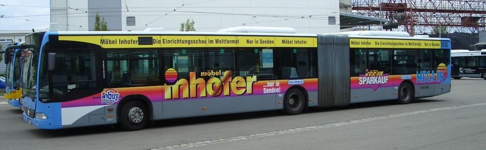 Möbel Inhofer Senden Kws Verkehrsmittelwerbung Gmbh
