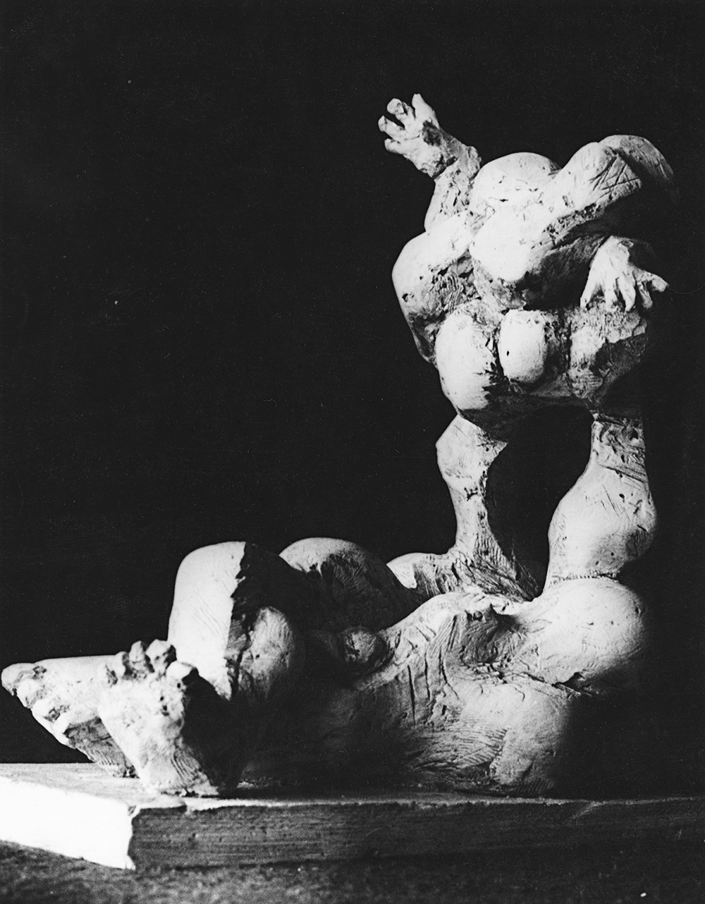 1968 - Delusion       chamber sculpture  Created as a reaction to the militant entry of the Soviet army into Czechoslovakia in 1968