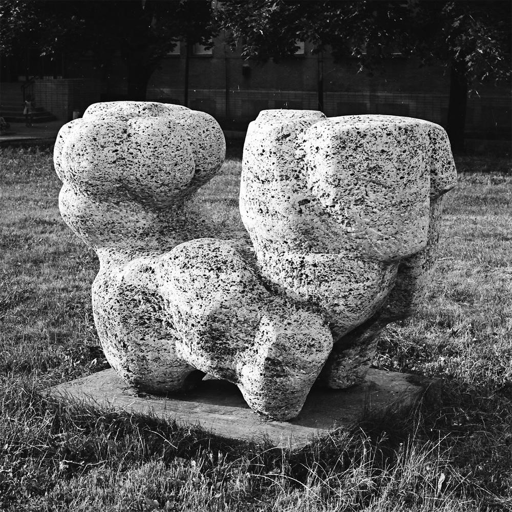 The Fusion     stone Nové Mesto nad Váhom 1969 150 x 240 x 95 cm