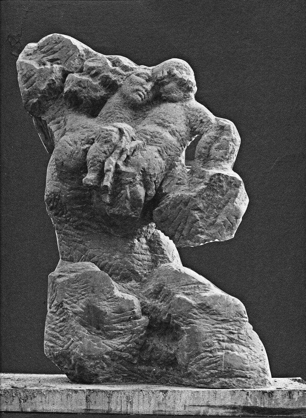 Motherhood     stone Galanta 1976 270 cm