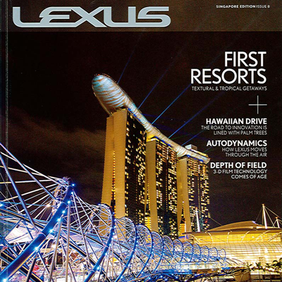 Published print magazine in multiple global editions, as well as maintaining website, blogging, social media, and event work, helping Lexus pivot from being an auto manufacturer to a lifestyle brand.
