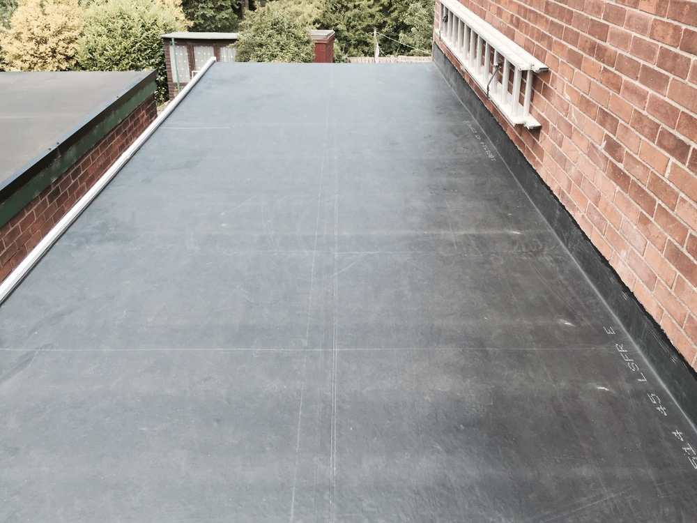 50 YEAR RUBBER ROOF IN CONSETT.