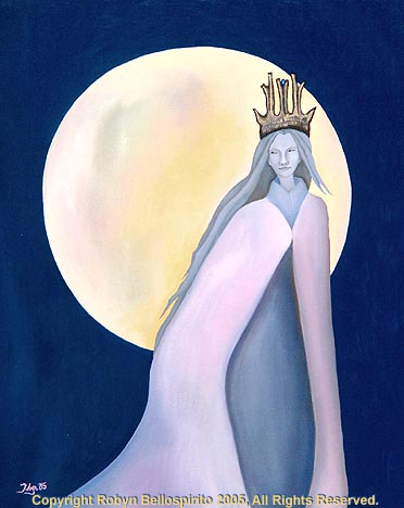 """The Roaming Night Queen"""