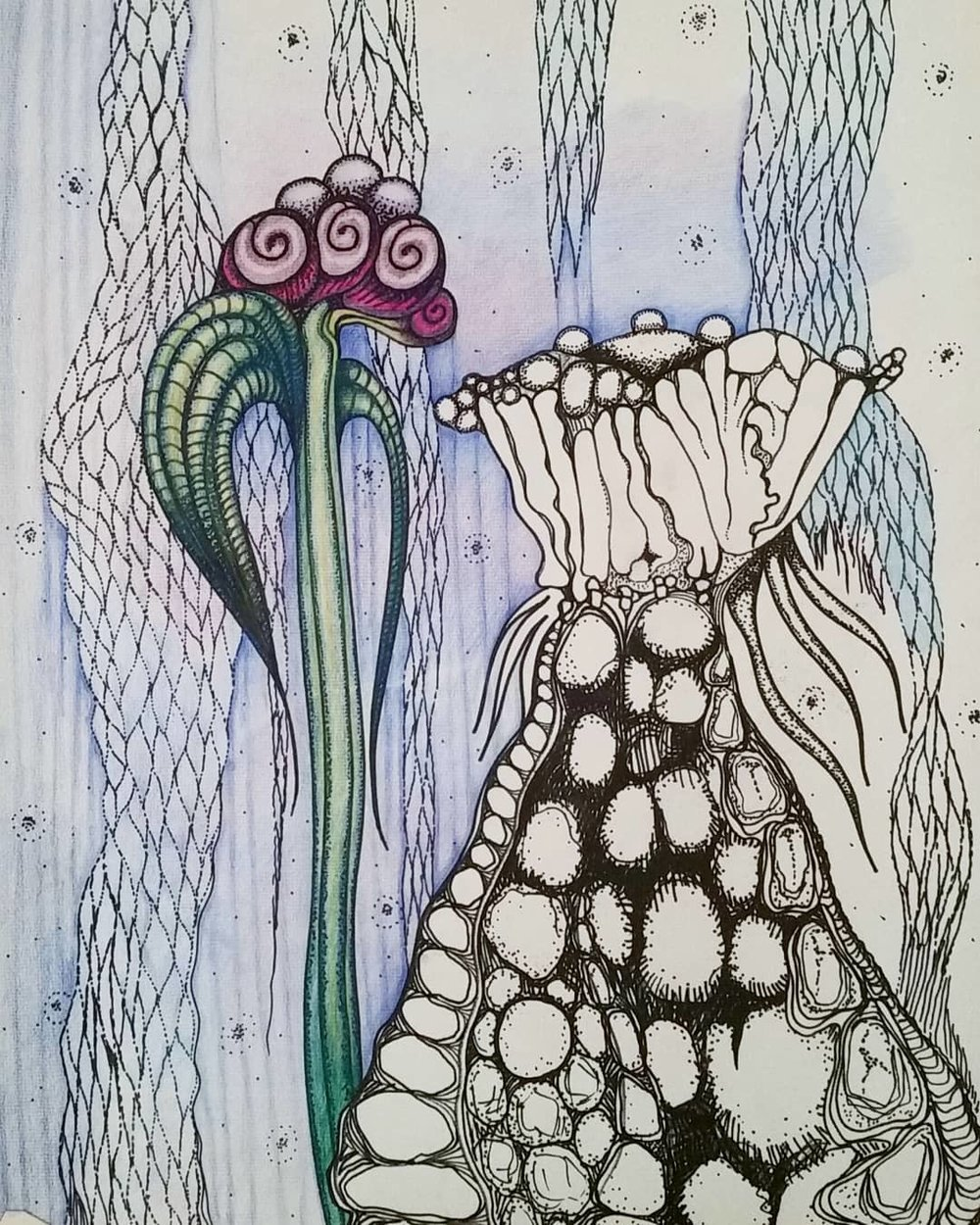 """Cosmic Flora"""