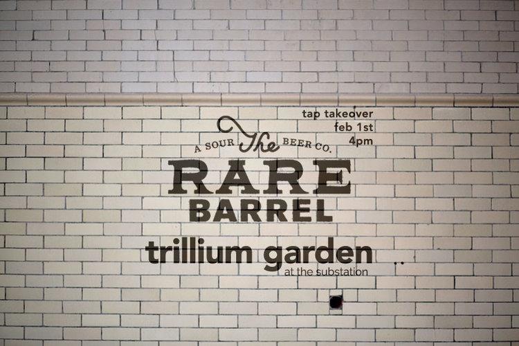 The Rare Barrel Tap Takeover Trillium Brewing Company