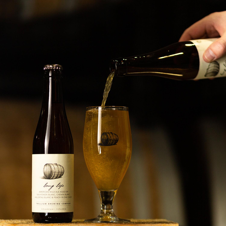 Long Life American Wild Ale Aged On Sauvignon Blanc Chenin Blanc