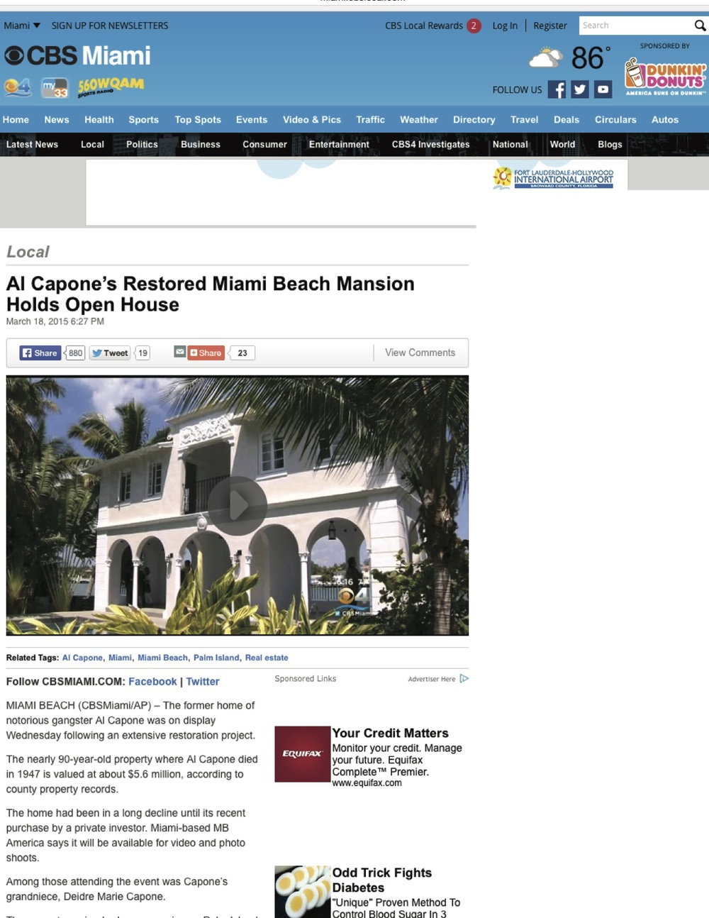 "<p><strong>CBS Miami</strong><a href=""http://miami.cbslocal.com/2015/03/18/al-capones-restored-miami-beach-mansion-holding-open-house/"" target=""_blank"">Watch Video →</a></p>"