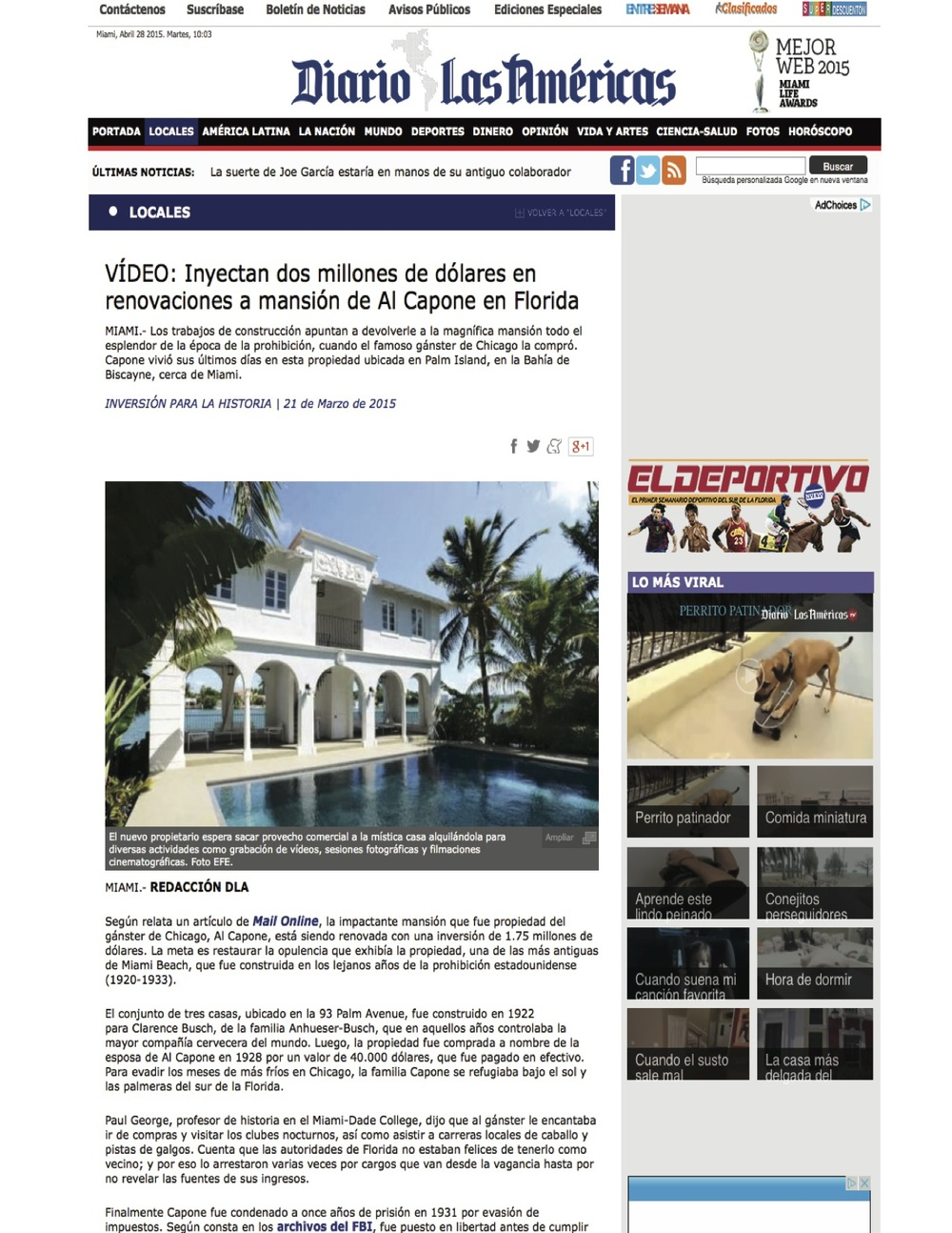 "<p><strong>DLA</strong><a href=""http://www.diariolasamericas.com/4842_locales/3009997_video-casa-capone-florida-recibe-dos-millones-dolares-renovaciones.html"" target=""_blank"">View Article →</a></p>"