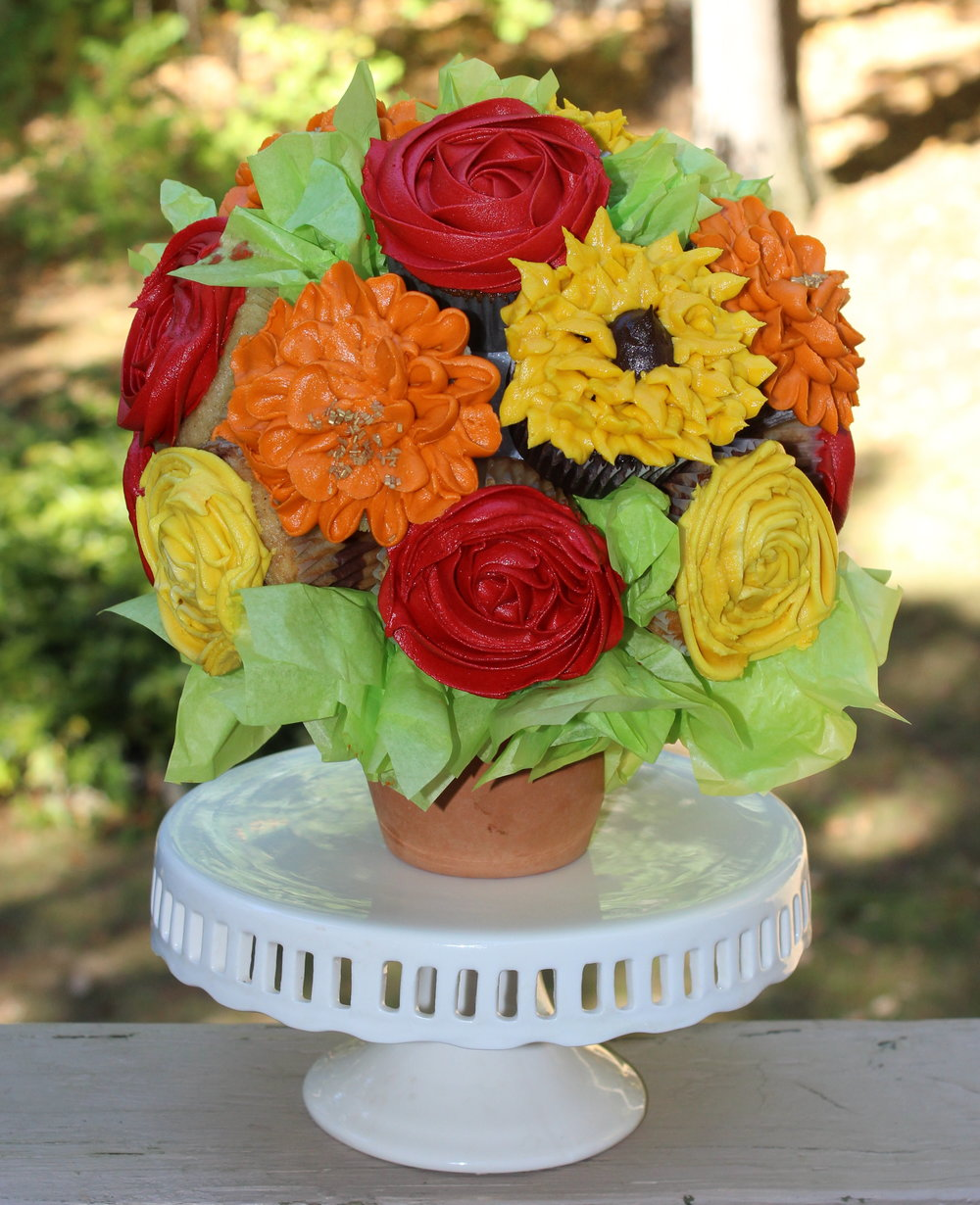 Cupcake Bouquets Sweetened Memories