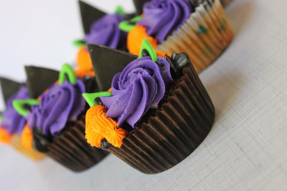 Witch Cupcakes $36/dozen -