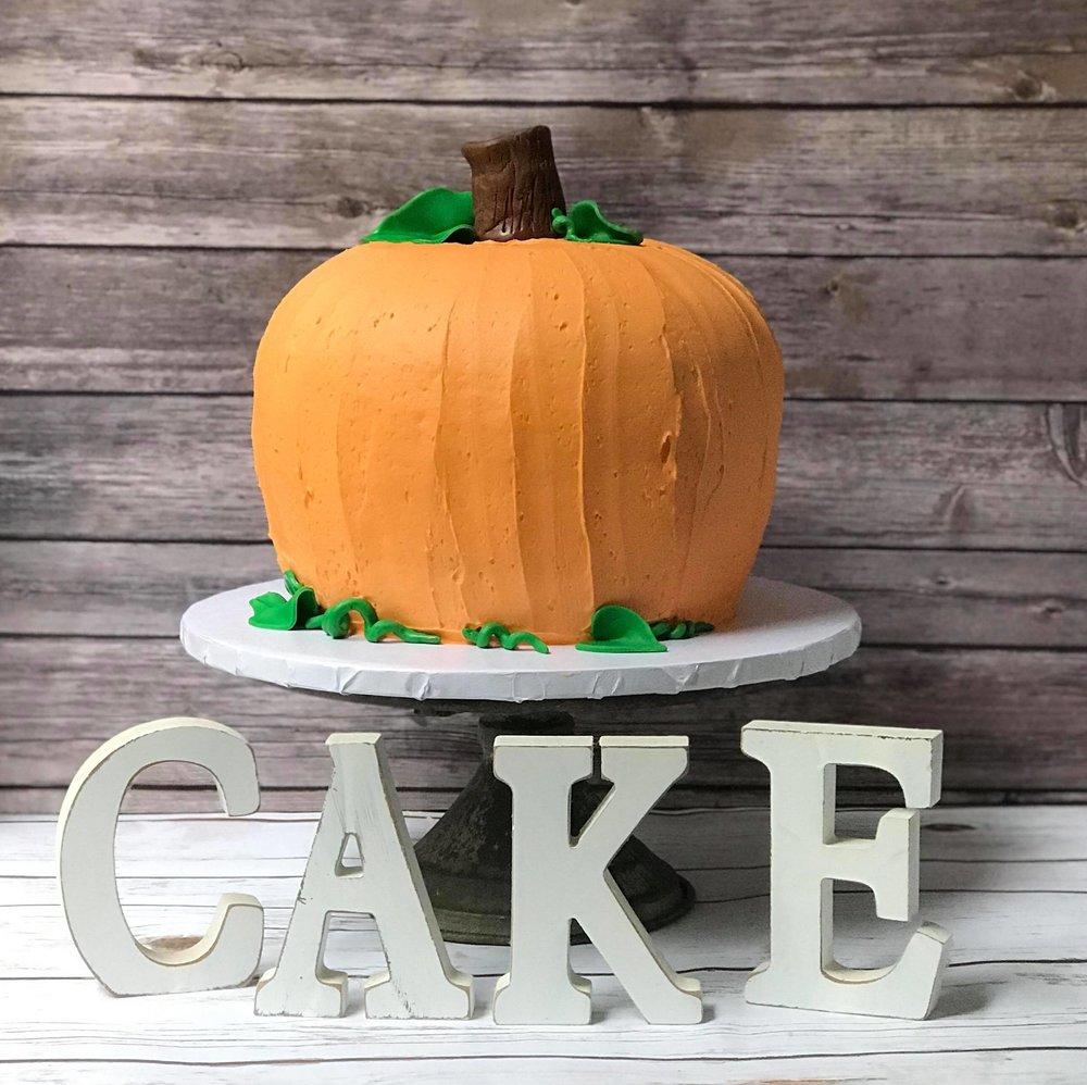 Pumpkin Cake - 6 inch $508 inch $609 inch $75