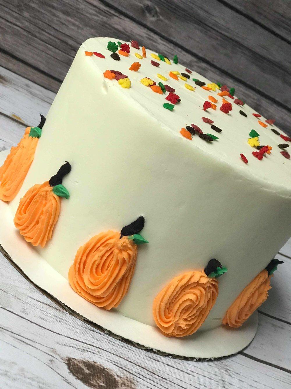Fall Sweetness Cake - 6 inch $358 inch $459 inch $55