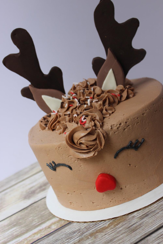 Rudolf Cake - $55 6 inch$65 8 inch$75 9 inch
