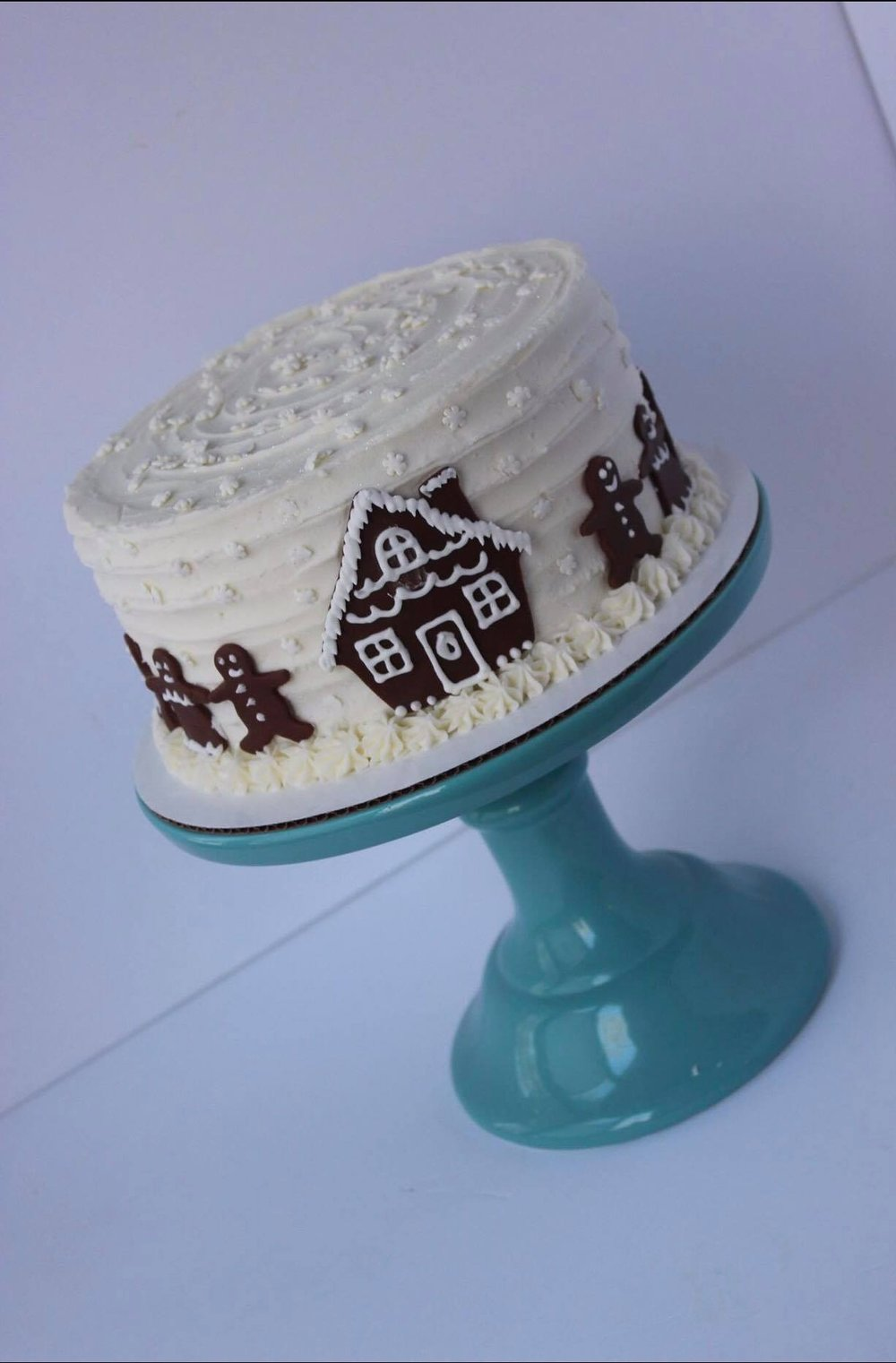 Gingerbread House Cake - $50 6 inch$60 8 inch$70 9 inch