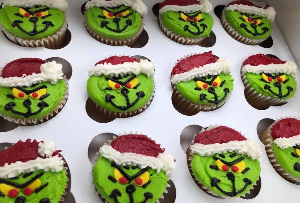 Grinch Cupcakes - $36/dozen