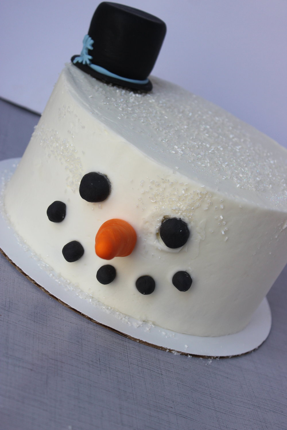 Frosty The Snowman Cake - $45 6 inch$55 8 inch$65 9 inch