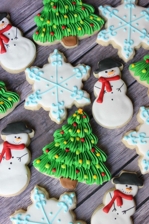Winter Fun Cookies - $36/dozen