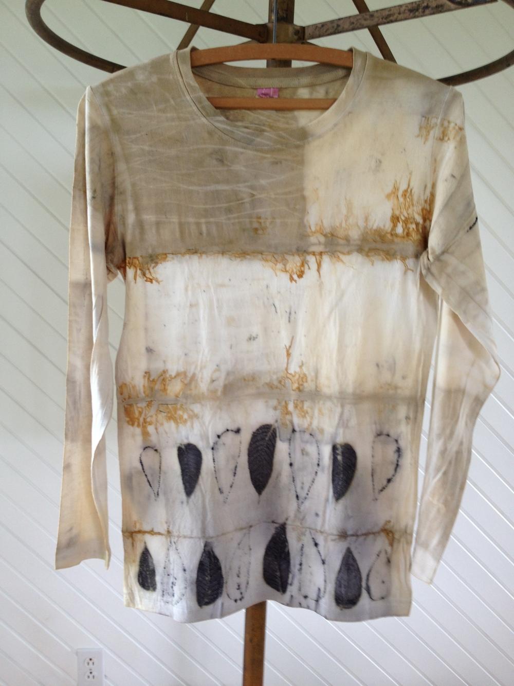 Julie Pishny Ecoprint TShirt