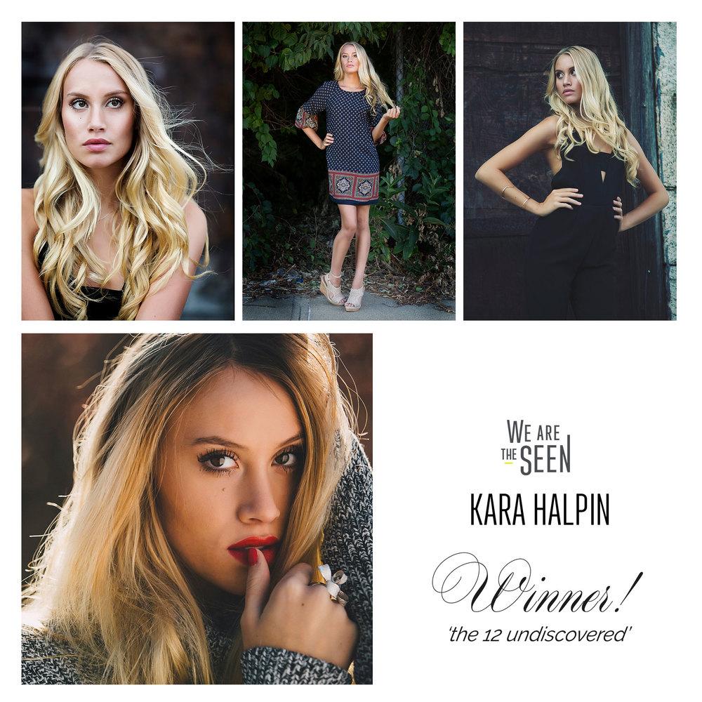 Kara Halpin | Winner, We Are The SEEN Group 3