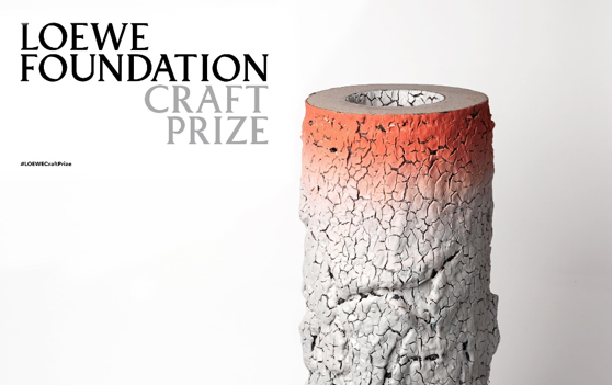 The LOEWE FOUNDATION Craft Prize 2018. - Each of the finalists' work is featured in an exhibition at the Design Museum, London from 4 May – 17 June.Avant-garde and craftsmanship in an exhibition that summarises the best of craft with artistic ambition around the world. The finalists of the LOEWE Craft Prize second edition are on show at the Design Museum, London, from 4 May – 17 June. An unprecedented opportunity to meet the most outstanding international and cross-generational works on ceramics, jewellery, textiles, woodwork, glass, metalwork, furniture, papercraft and lacquer.These works stand for the culture of effort and the revival of traditions, and lead to the essence of LOEWE and its legacy of knowledge and quality in a time of immediate and indiscriminate production.