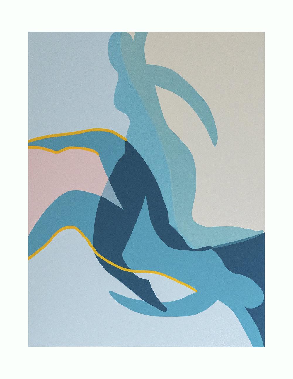 'Dreamers', 50x39cm