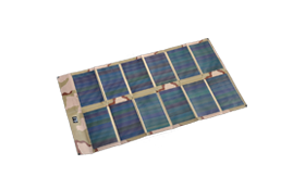 solar Panel:  Recharge Wolf Pack PB3d LI-ION cells in the field. See  page  for more information.