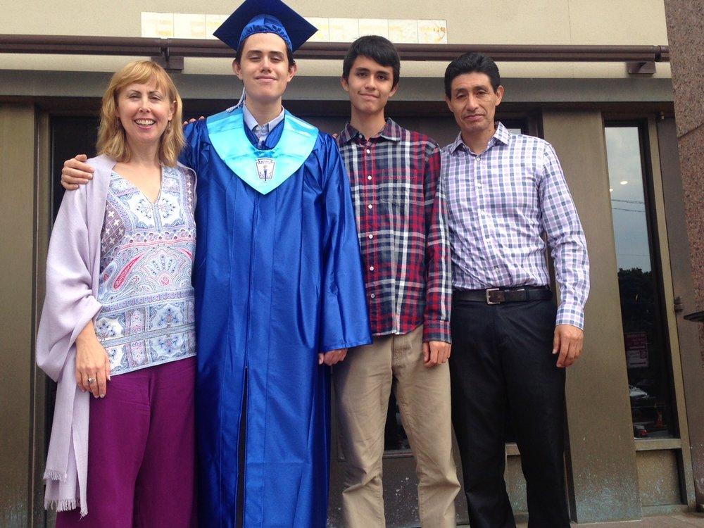 Dante Panora's Graduation