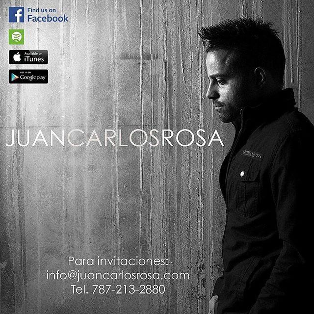 Recuerda que para invitaciones puedes escribirnos a info@juancarlosrosa.com. Para nuestro ministerio será una bendición. #JuanCarlosRosa #YoCreoJCR #Avívanos #CreoElConcierto