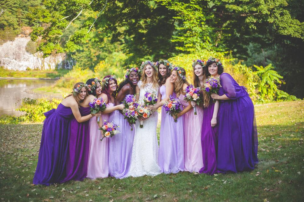 Upstate NY Wedding Party