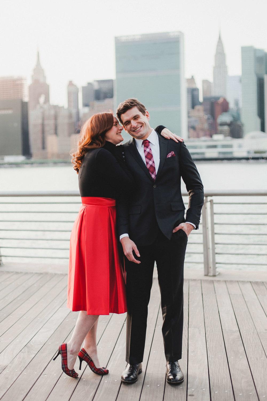 NYC Couple's Shoot- Waterfront at LIC