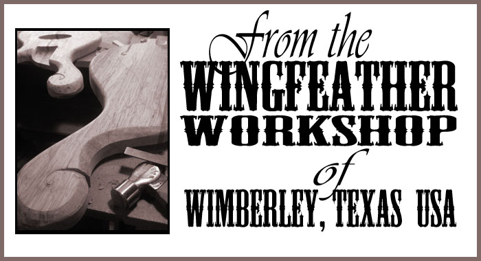 Wingfeather Workshop