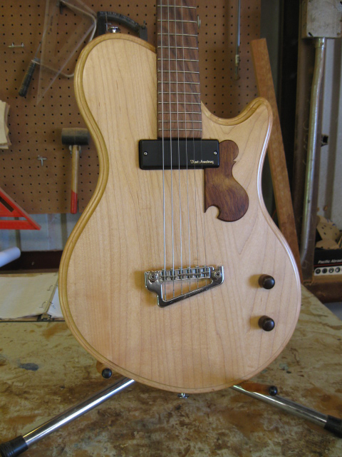 Electric Jazz solid body guitars