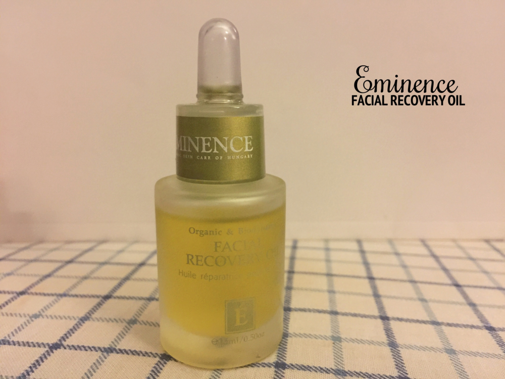 Skin Care Routine [Face] - Eminence Facial Recovery Oil