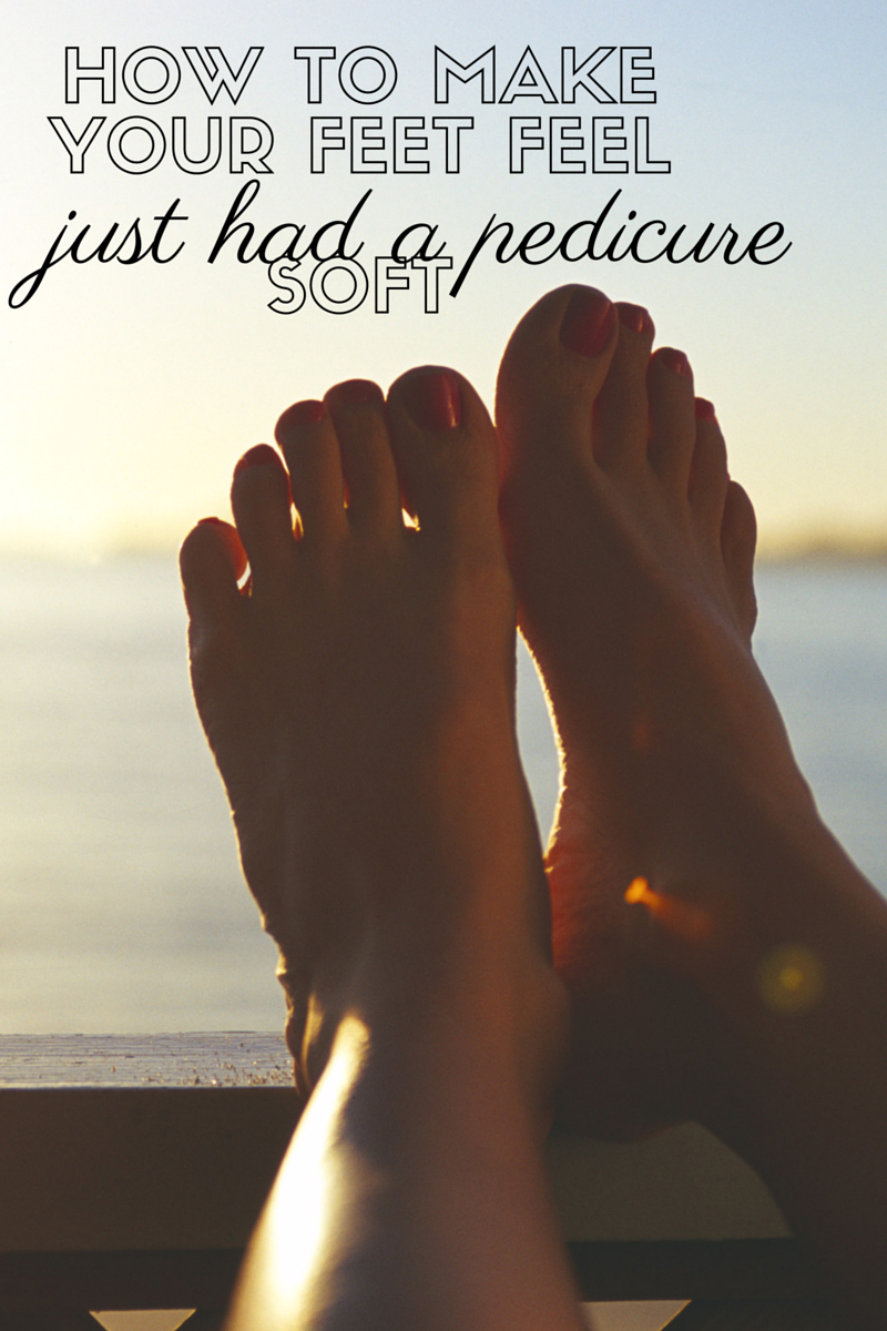 How To Make Your Feet Feel Just had a pedicure Soft | by: Vashti Co Blog | Beauty Tips